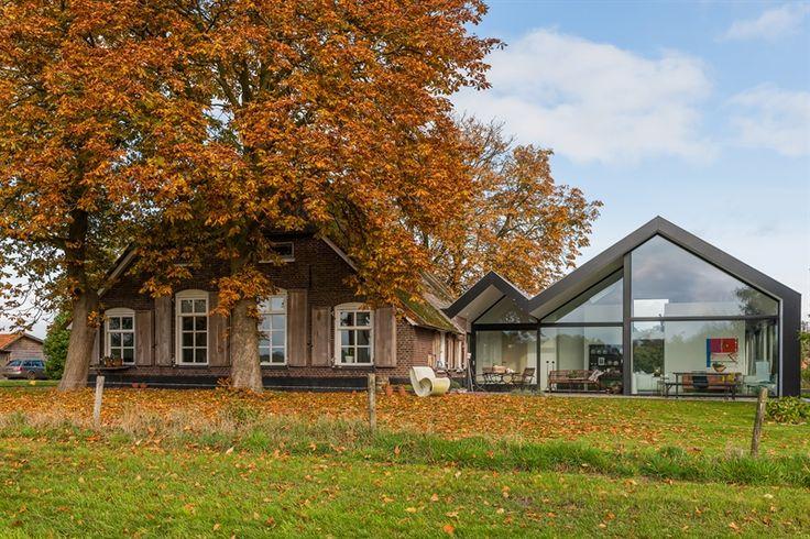 202 beste afbeeldingen van architecture extensions - Uitbreiding oud huis ...