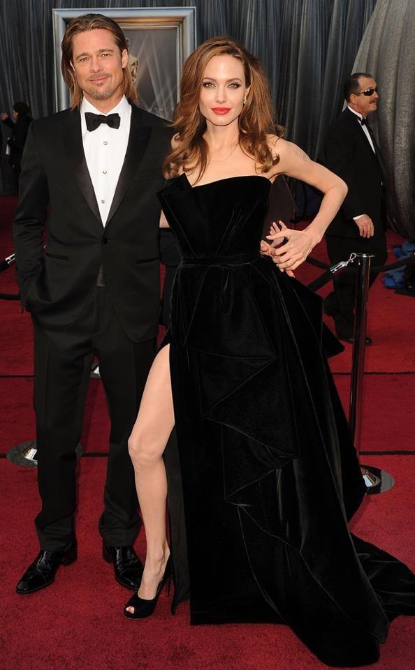 Image result for Angelina Jolie's meme-worthy dress in 2011
