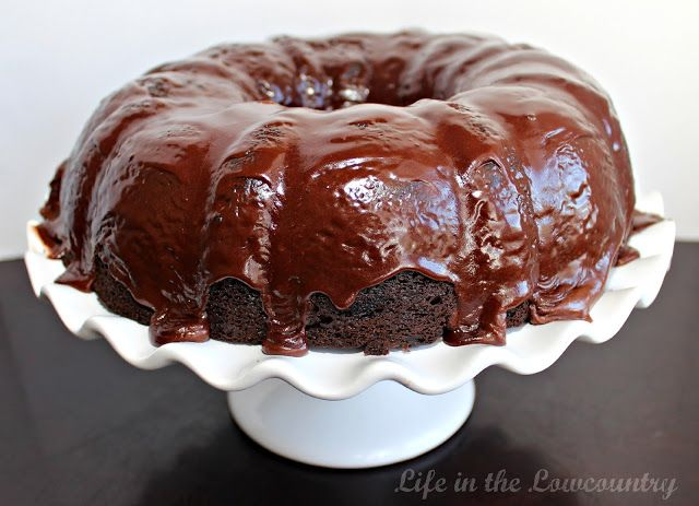 Granny Chocolate Bundt Cake Which Uses  Cake Recipes