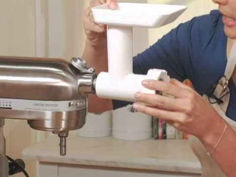 KitchenAid Stand Mixer Meat Grinder Attachment