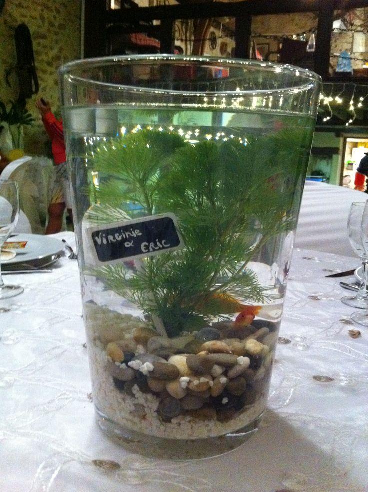 Les 25 meilleures id es de la cat gorie centre de table for Decoration pour poisson