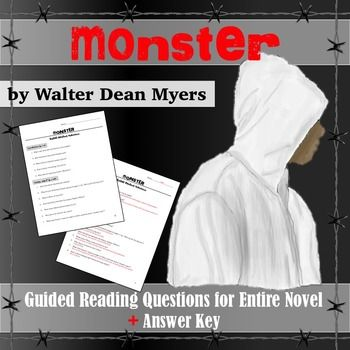 monster myers essay questions The color of water: study questions  monster closing arguments  write the argumentative essay introductory paragraph:.