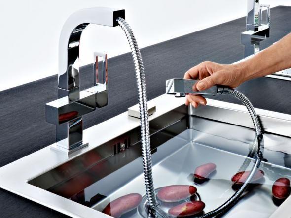 Die besten 25+ Küchenspülbecken Ideen auf Pinterest Vorhänge - wasserhahn f r k chensp le