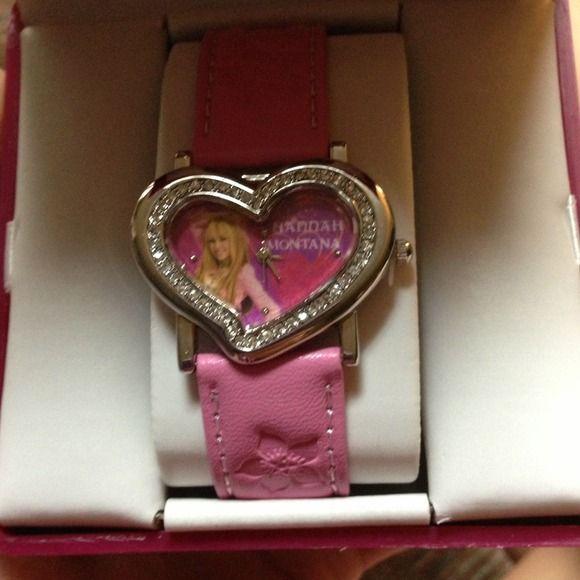Hannah Montana watch!! Brand new. Never been worn! Disney Jewelry