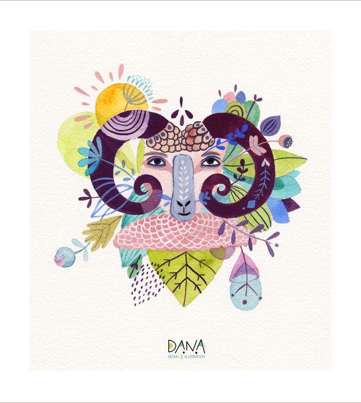 zodiac, nature, illustration, drawing, floral, nature, virgo, vierge, astrologique