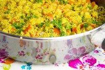 Paella met quinoa en zeevruchten   CurlsCulinair