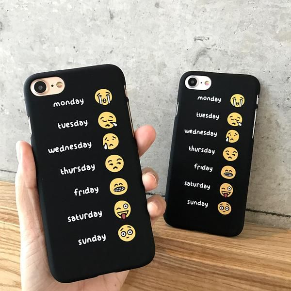Phone Cases For iPhone 6 6s 7 Plus Case Funny One Week Working ...