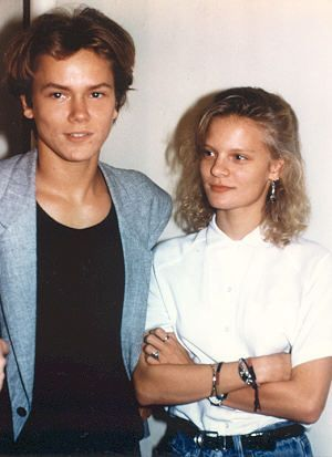 River Phoenix and (Girlfriend) Martha Plimpton