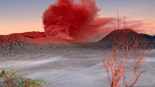 Mount Bromo - Active Volcano in Java