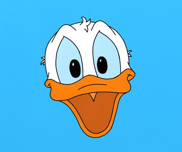 Donald Duck - cum se deseneaza, #desen pas cu pas. #learntodraw #drawing