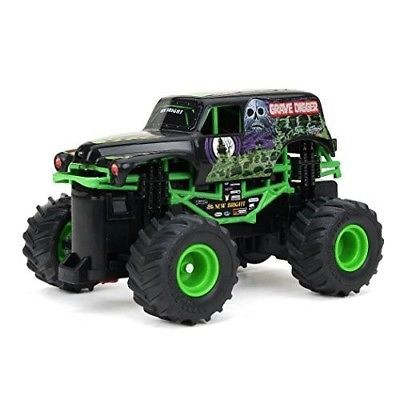 Monster-Truck-RC-Remote-Control-Toy-4x4-Drive-Racing-Car-Grave-Digger-Kids-Car