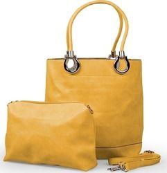 Γυναικεία τσάντα ώμου - Κίτρινο - OEM 30978