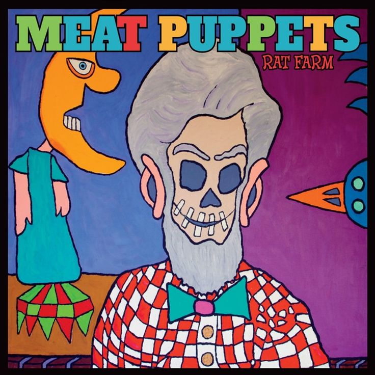 Meat Puppets Rat Farm on LP Rat Farm is the new Megaforce Records release from the Meat Puppets and the band's 14th studio album overall. The release features the Kirkwood brothers' almost-there harmo