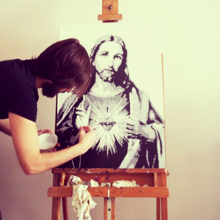 Acrylic on canvas 80x60 cm