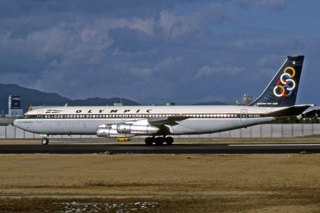 olympic airlines | Olympic Airlines 707-300