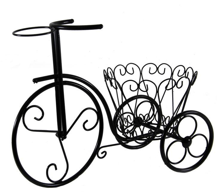 3 Tekerlekli Siyah Ferforje Bisiklet  http://www.dekorsende.com/p-4887-bahce-aksesuarlari-3-Tekerlekli-Ferforje-Bisiklet-2122120252249-.html