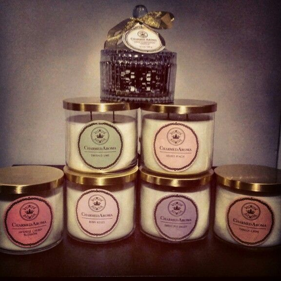 Charmed Aroma Candles Collection