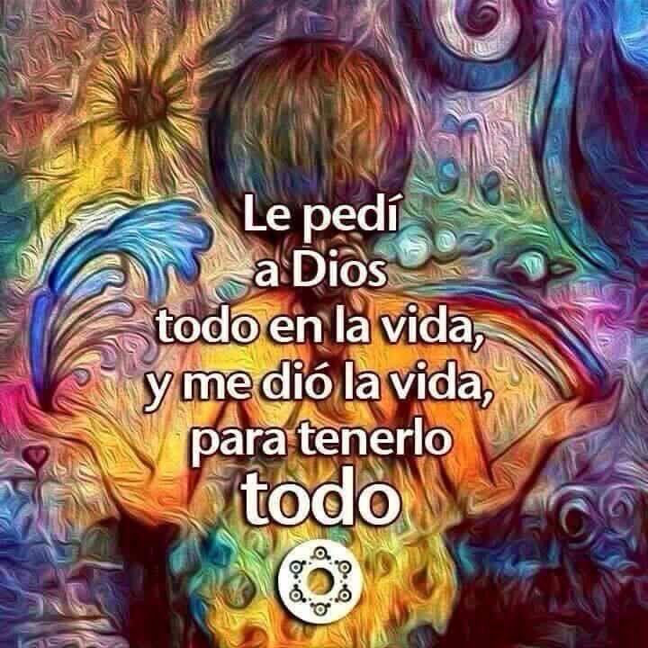 #Le pedi a Dios