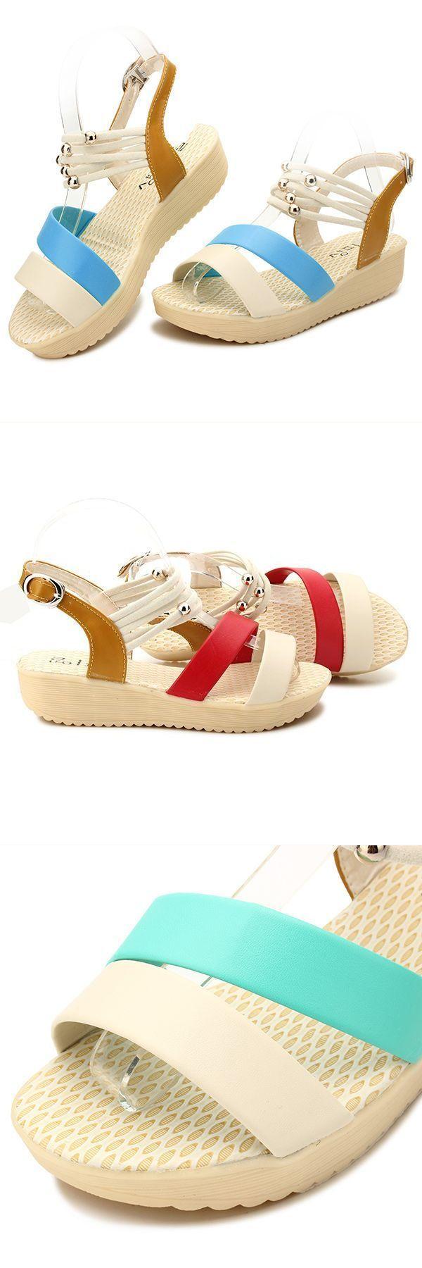 Sandals 800 women summer beach peep toe wedge sandals breathable strap platform sandals #sandals #65 #off #sandals #n #shoes #sandals #quiksilver #t #shaped #sandals