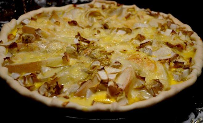 Recette belge : tarte aux chicons, poires et fromage de Herve | Au goût d'Emma | Blog Belge | Voyage & Gastronomie