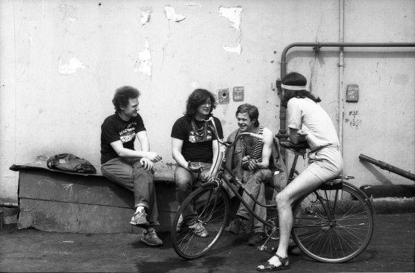 016 Аквариум,  1986 Фото Игоря Мухина