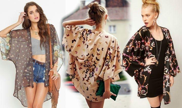 Looks com jaqueta estilo Kimono japonês. Você usaria?