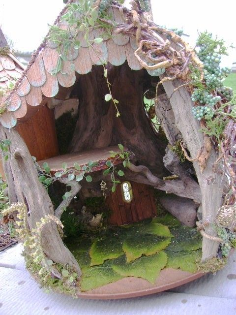 OOAK Driftwood FAIRY House Unfurnished Dollhouse By J. McLaughlin Custom  Furniture Available. $300.00,