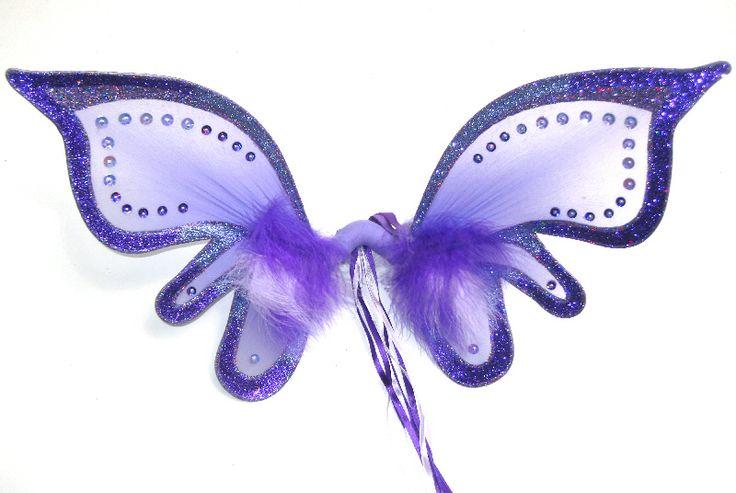 Purple single fairy wings 10.51 - Fairy Love
