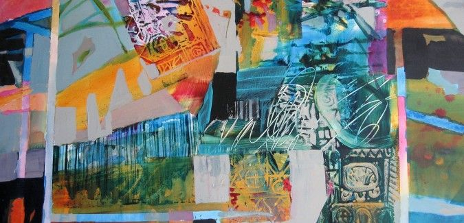 Painting Abstraction and Abstract Realism in Acrylics