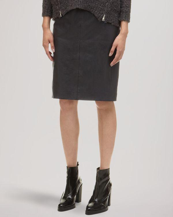 Whistles Skirt - Kel Leather Pencil