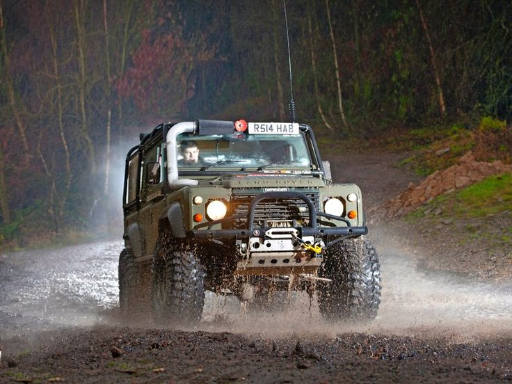 Cummins Powered Defender 110 | http://www.lro.com/features-reviews/featured-vehicles/1503/cummins-powered-defender-110/