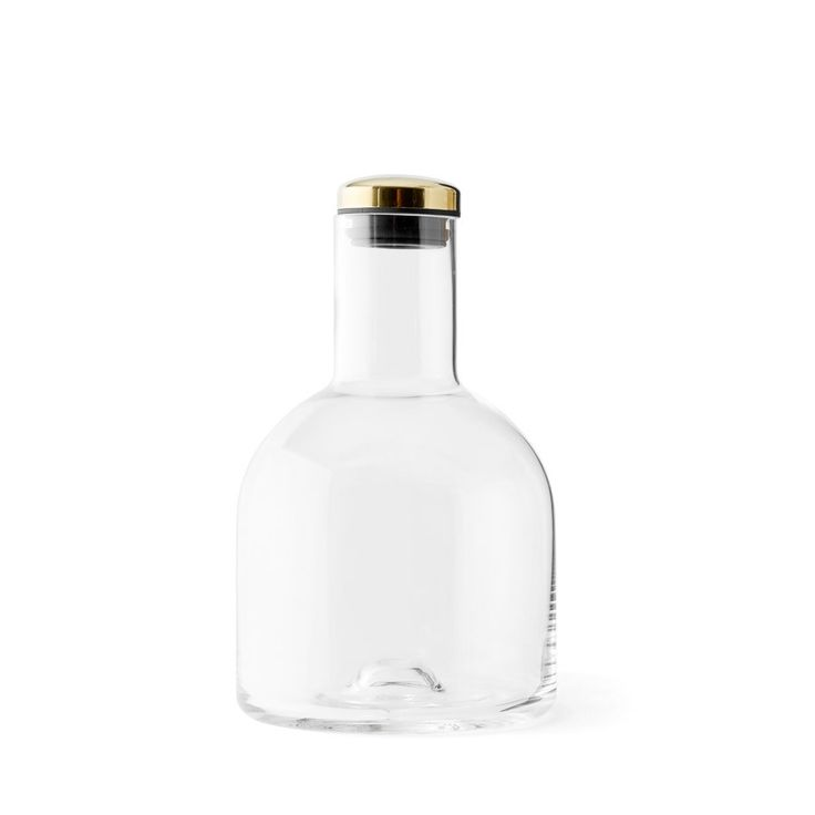 Designstuff offers a wide range of Scandinavian homewares including this stunning bottle carafe with brass lid, designed by Norm Architects for Menu, Denmark.