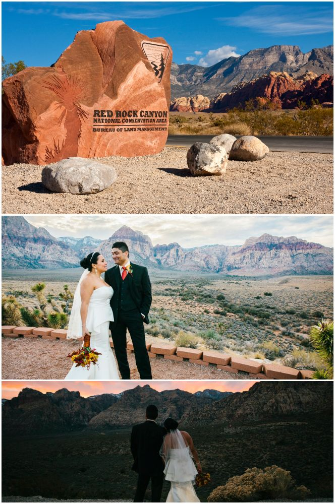 "Say ""I Do"" at Red Rock Canyon National Conservation Area outside of Las Vegas, Nevada."