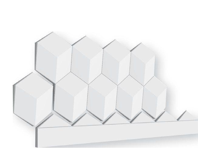 MULTIFACE - 7036 3D обшивка стен by Staff Décor дизайн Interlam
