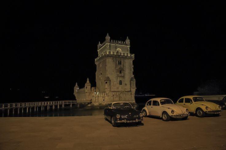Torre de Belem late at night.