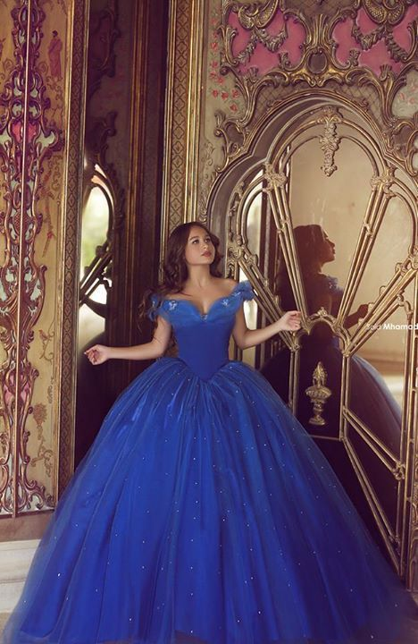 Quinceanera Dresses Blue | Royal Blue | Princess Dress |