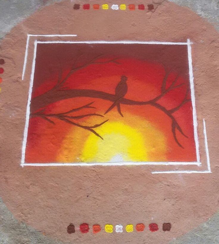 #diwali #2k16 #poster #rangoli