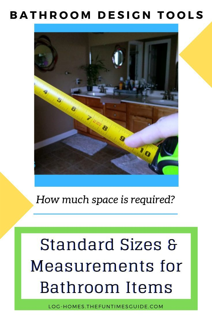Bathroom Dimensions – See Standard Shower Sizes, Bathtub Sizes, Toilet Dimensions & Other Important Measurements For Bathroom Fixtures + ADA Bathroom Requirements