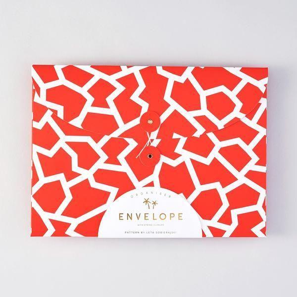 Folder Envelope : Red - Baltic Club www.thebalticclub.com