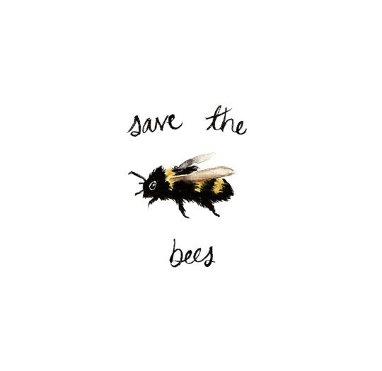 The funny thing about me is, I'm the kind of person who would have a bee allergy, and promote saving the bees, because even though they could kill me, I'd want them to have a chance to live.