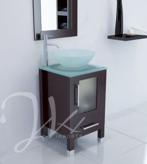 17 75 Soft Focus Small Bathroom Vanity Glass A Space Saving Vanity Full Of