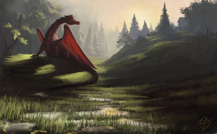 Dragon Light  by *jjpeabody