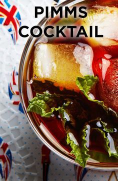 Take a trip across the pond with a glass of this fruity and fantastic Pimms Cocktail!