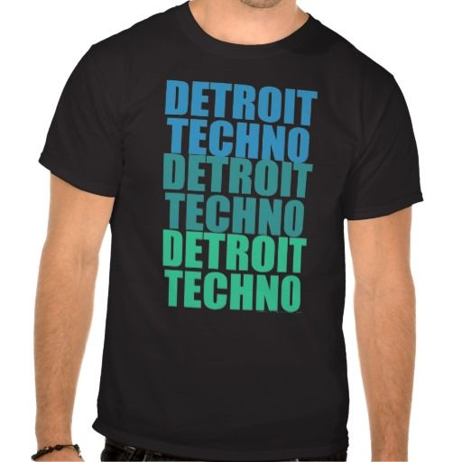 Love this! Detroit Techno Shirt! <3 Detroit