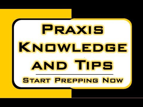 Praxis Knowledge and Tips -  Free Praxis Math Strategies http://www.praxissecrets.com  The topic covered in this video is only a small part of the Praxis Exam/Test; you'll find a ton of in-depth study materials for all Praxis subjects when you click the link above.  Relying on the right study materials is absolutely essential for success on the Praxis test. What you see in the video is merely a preview of the high quality prep materials in our Praxis study guide. #praxis #mometrix