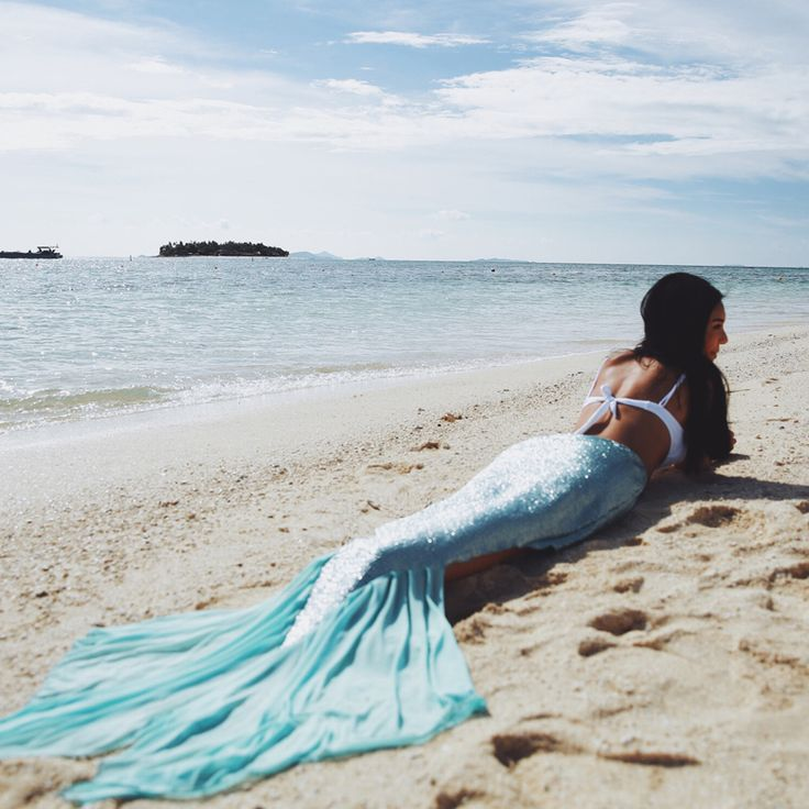 Cute mermaid tail skirt beachwear swimwear bikini from Petite Cherry: https://www.petitecherry.com/collections/swimwear-beachwear/products/shimmery-seas-mermaid-tail-skirt