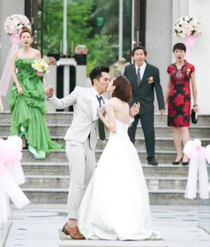 Marry Me, or Not? Look at the that horrible bridesmaid dress lol, this drama is too much.