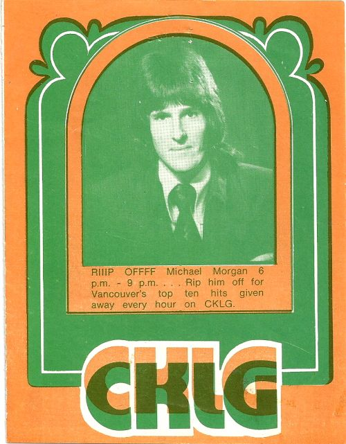 AM radio....CKLG Vancouver BC, 1974, these leaflets used to come out every week with the top 30 singles and top 20 albums listed..........