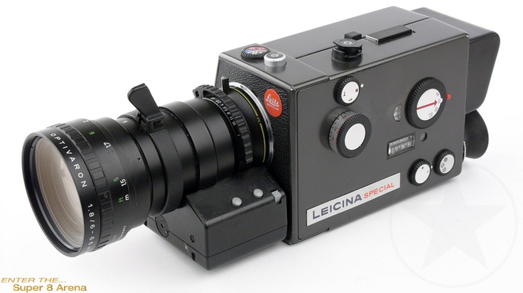 The oft-forgotten fact that Leica used to make movie cameras... and they were damn good at it. The Leicina Special, a Super 8 camera utilizing an interchangeable M-mount.