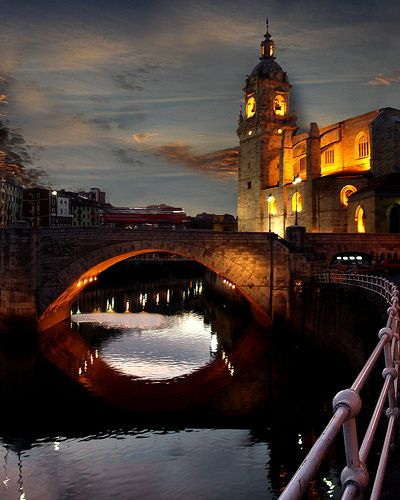 Casco viejo Bilbao Spain